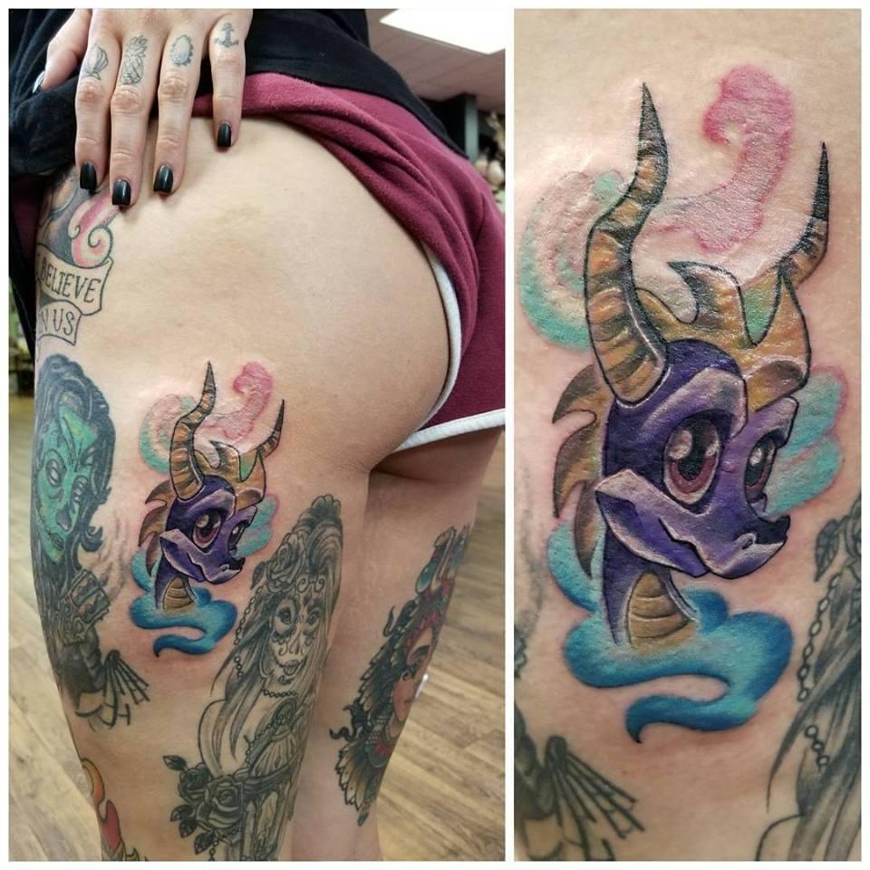 Aarika Beetlejuice Tattoo Obscura
